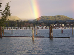 Sooke Harbour Rainbow